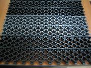 Грязезащитный модульный коврик из ПВХ ( ковры-решетки ). Коврик ПИЛА
