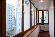 Остекление балкона в Минске