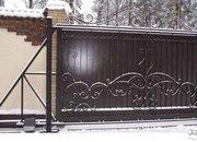 Заборы из профнастила,  ворота откатные,  штакетник