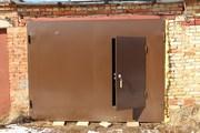 Гаражные распашные ворота под ключ